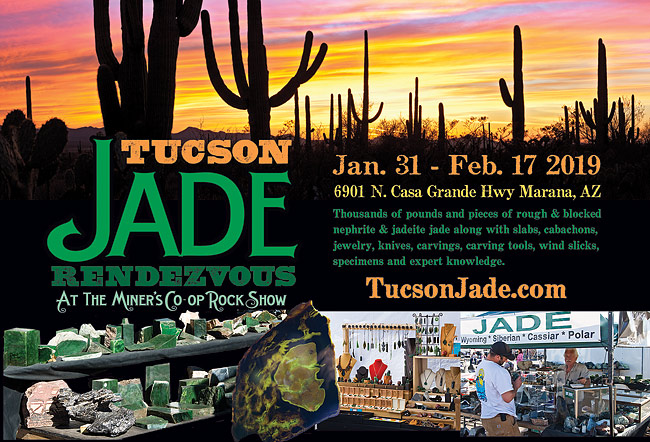 2019 Jade Rendezvous at the Tucson Gem Shows