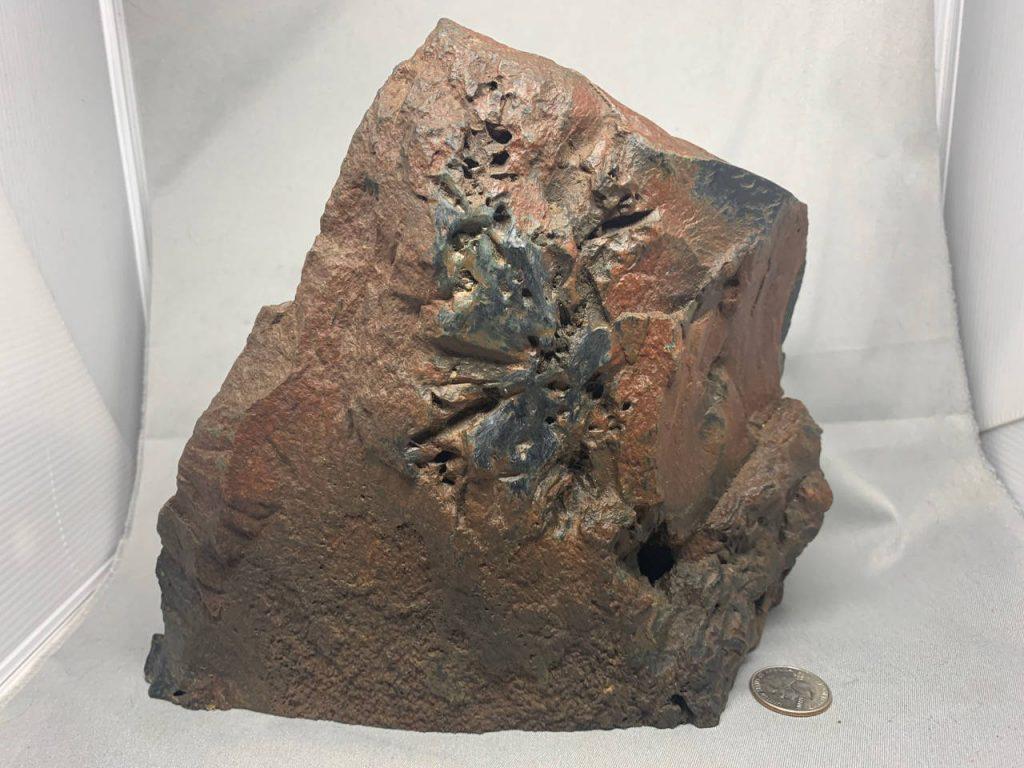 Edwards Black Wyoming black/frogskin nephrite jade – Viewing Stone